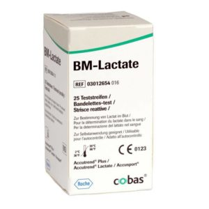 Accutrend Lactate Test Strips x 25