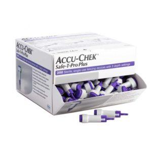 Accu-Chek Safe-T Pro Plus Lancet x 200