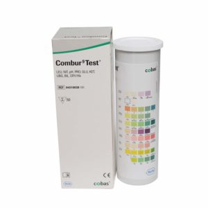 Combur 9 Test Strips x 50