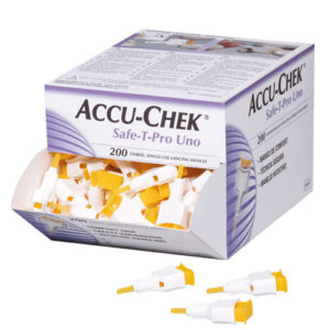 Accu-Chek Safe-T Pro Uno Lancets x 200