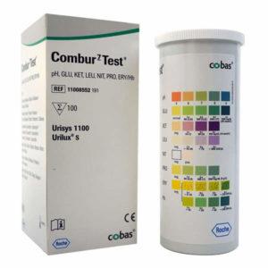 Combur 7 Urine Analysis Test Strips x 100