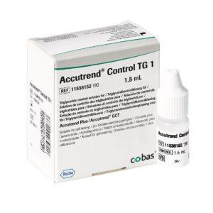 Accutrend Triglyceride Control Solution