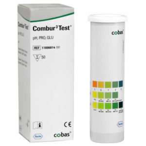 Combur 3 Test Strips x 100