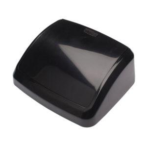 10L SWING BIN LID BLACK
