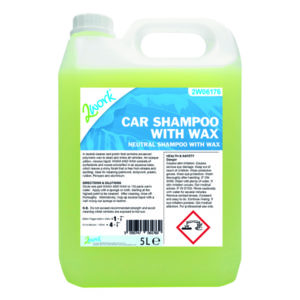 2WORK CAR SHAMPOO WITH WAX 5L