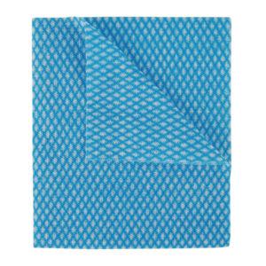 2WORK ECONOMY CLOTHS BLUE 42X35CM PK50