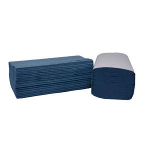 2WORK 1PLY BLUE I-FOLD 190X250MM PK3600