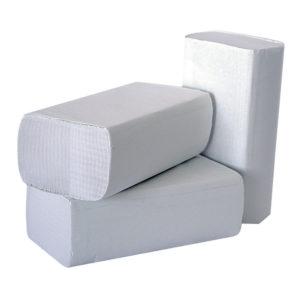 2WORK 1PLY WHITE M-FOLD PK3000 245X240MM