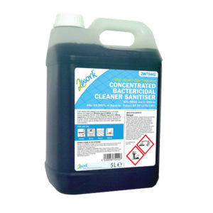 2WORK CONCENTRATED BACTERICIDAL CLNR 5L