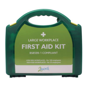 2WORK LARGE BSI FIRST AID KIT