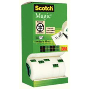 3M SCOTCH MAGIC TAPE 19MMX33M PK12
