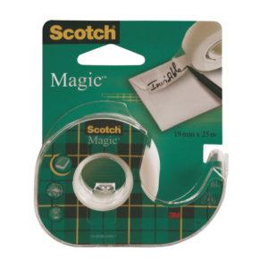 SCOTCH MAGIC TAPE 19MM X 25M ON DISP