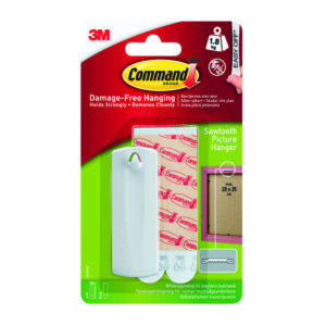 3M COMMAND PICTURE HANGING KIT SAWTOOTH