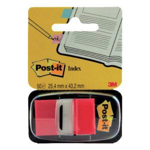 3M POSTIT INDEX RED 1INCH 680-1