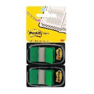 POSTIT INDEX FLAG DISPENSER GREEN PK2