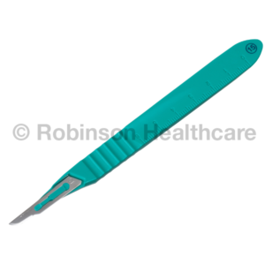 Instrapac Disposable Scalpel No: 15 Stainless Steel Blade x 100