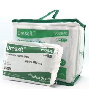 DressIt Aseptic Dressing Pack - Small/Medium x 10