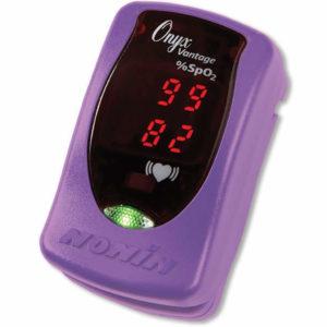 Nonin Onyx Vantage 9590 Finger tip Oximeter - Purple
