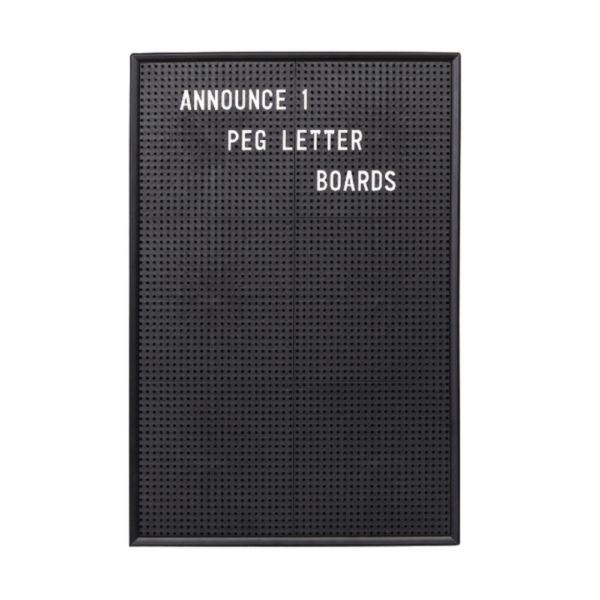 ANNOUNCE PEG LETTER BOARD 463 X 310MM