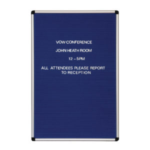 ANNOUNCE GROOVE LETTER BOARD 600X900MM