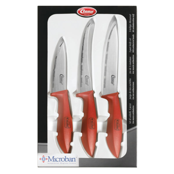 3 PIECE KITCHEN KNIFE SET EACH