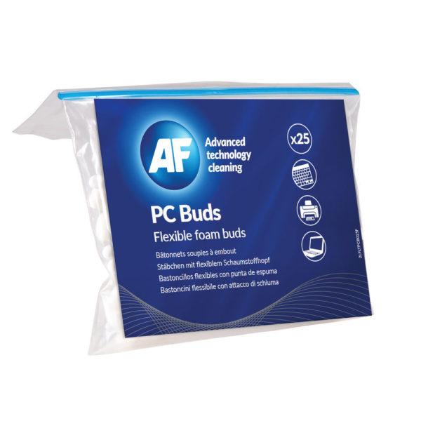 AF PC BUDS 25 FOAM ENDED BUDS APCB025