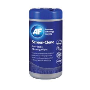 AF SCREEN-CLENE 100 WIPES TUB ASCR100T