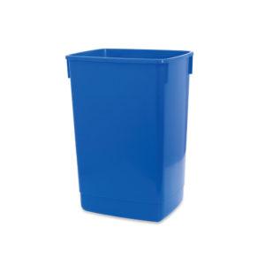 ADDIS 60L FLIP TOP RECYCLE BIN BASE BLUE
