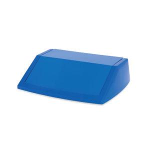 ADDIS 60L FLIPTOP BIN LID BLUE