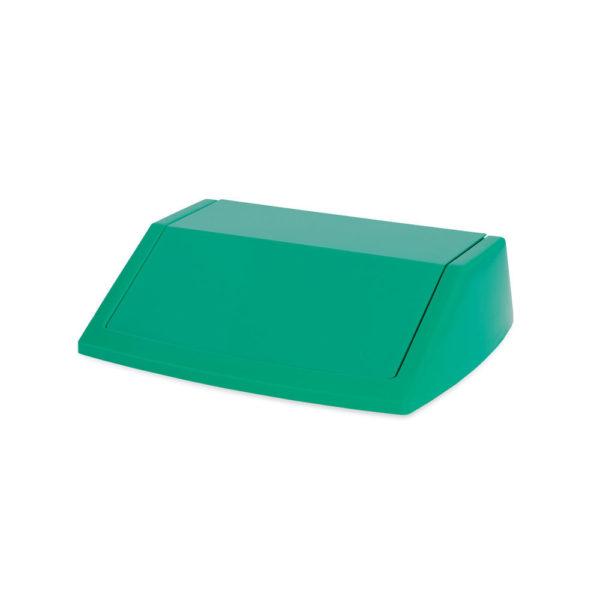 ADDIS 60L FLIPTOP BIN LID GREEN