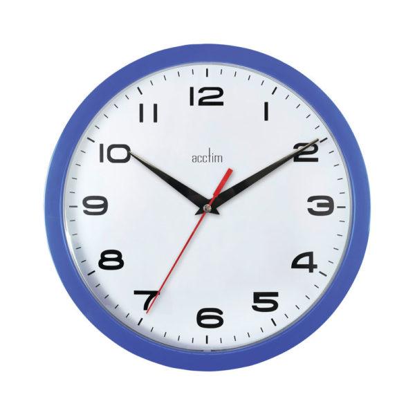 ACCTIM AYLESBURY WALL CLOCK BLUE 92/308