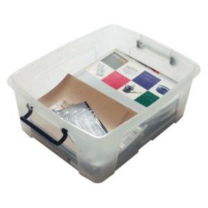 STRATA 24L SMART BOX CLEAR HW673