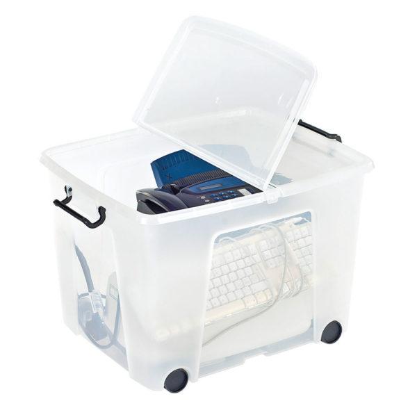 STRATA 75L SMART BOX WHLS CLR HW676-CLR