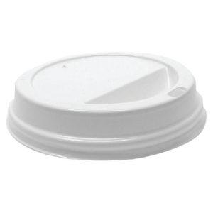 MYCAFE LIDS 12OZ WHITE PK1000