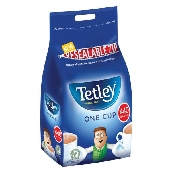 TETLEY 1CUP TEA BAG PK440 1054J