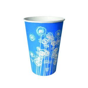 AQUA SWIRL 7OZ PAPER CUP PK100