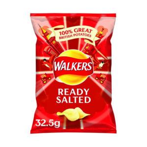 WALKERS READY SALTD CRSP 32.5G PK32