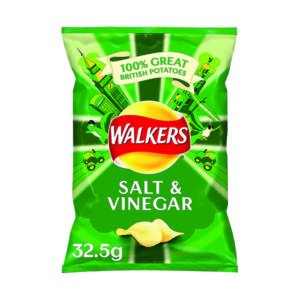 WALKERS SALT/VINEGR CRSP 32.5G PK32