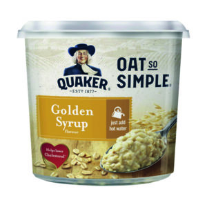 OAT SO SIMPLE GOLDEN SYRUP 57G PK8