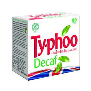 TYPHOO DECAFF TEABAGS PK80