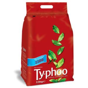 TYPHOO 1 CUP TEA BAGS PK1100 A00786