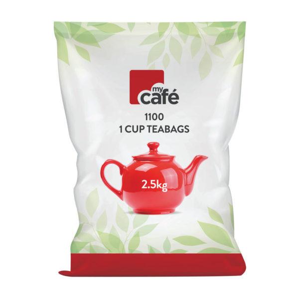 MYCAFE ONE CUP TEA BAGS PK 1100 T0260