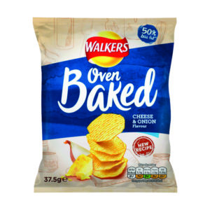 WALKERS BKED CHESE/ONION 37.5G PK32