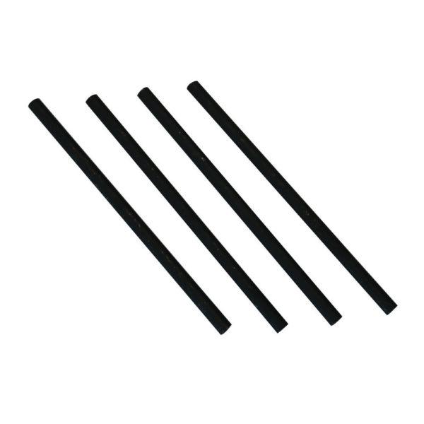 AVERY BLACK PLATED RISERS 118MM PK4