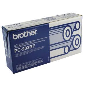 BROTHER PC202RF RIBBON REFILL BLACK PK2