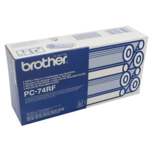 BROTHER PC74RF INK FILM RIBBON ROLL PK4