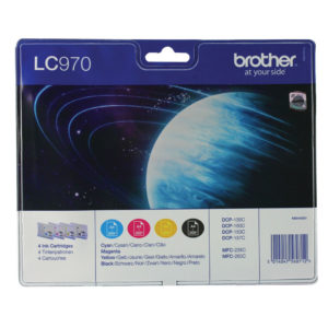 BROTHER LC970VALBP INK VALUE PACK