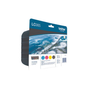 BROTHER INK VALUE PACK LC985VALBP KCMY