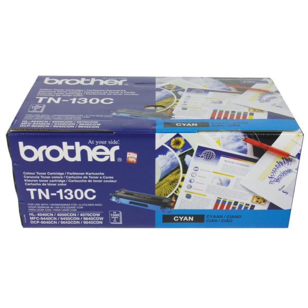 BROTHER TONER CARTRIDGE CYAN TN130C