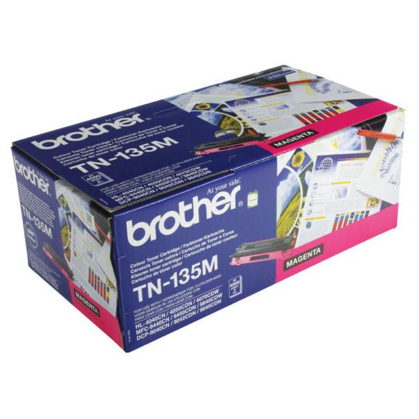 BROTHER TN135M TONER CARTRIDGE MAGENTA H